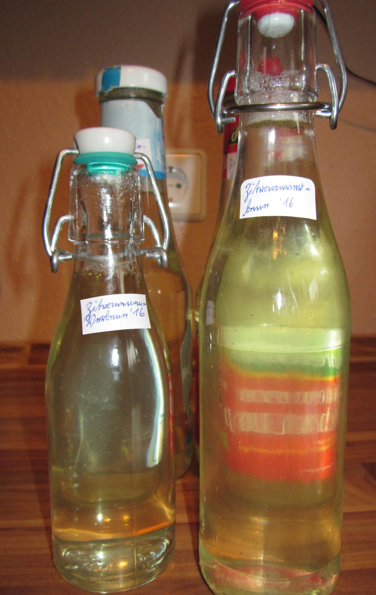 Zitronenverbene-Sirup